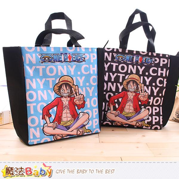 手提袋 航海王授權正版萬用提袋 便當袋 魔法Baby~c0116