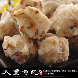 【大豐魚丸】火鍋料鍋物專家--香菇旗魚丸--300g