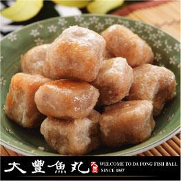 【大豐魚丸】火鍋料鍋物炸物專家-芋頭炸丸子(鹹鴨蛋)300g