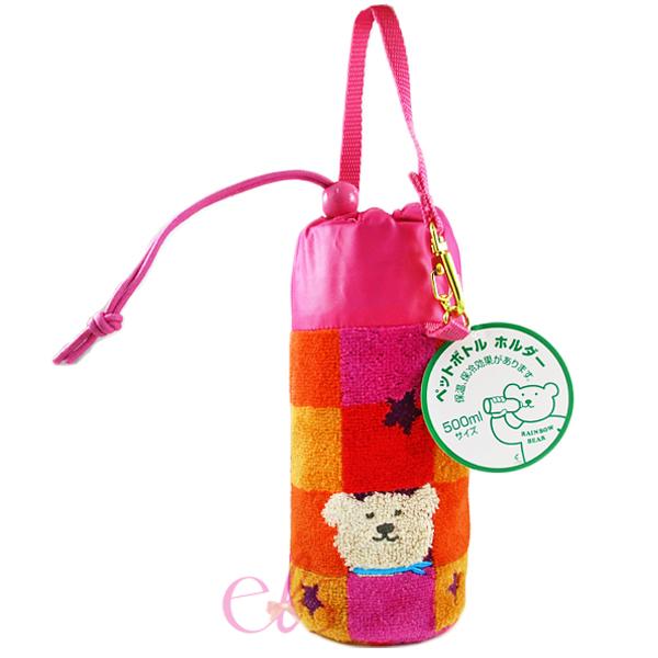 日本RAINBOW BEAR 彩虹熊 保冷水壺手提袋 D01☆艾莉莎ELS☆