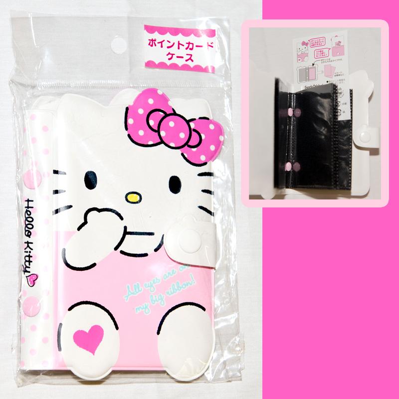Hello Kitty PVC卡包 卡冊 信用卡套 名片包 收納包 日本帶回正版品