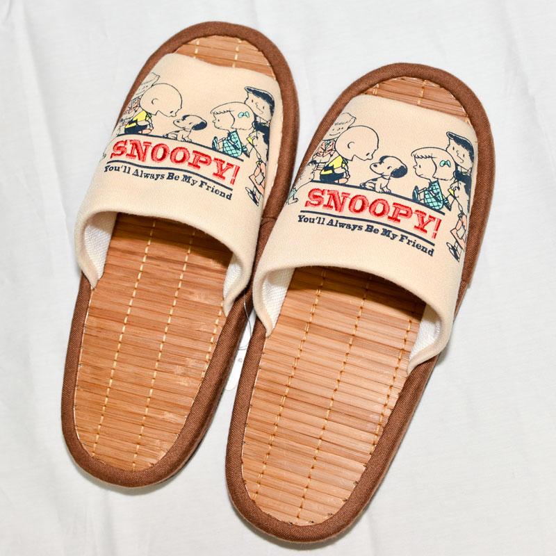 SNOOPY 史努比 室內拖鞋 竹涼鞋 日本帶回正版商品