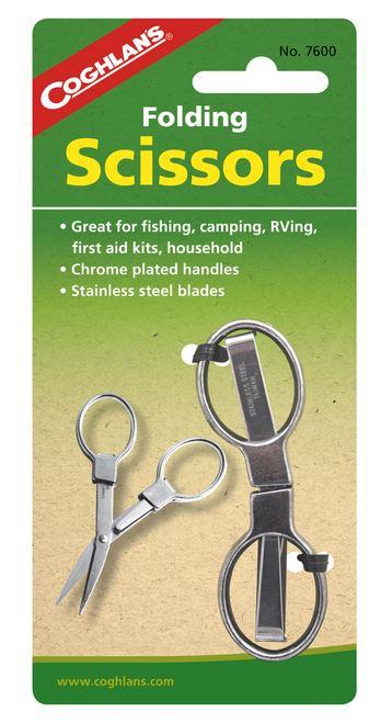 【鄉野情戶外專業】 COGHLAN'S |加拿大|  旅遊摺疊剪刀 Folding Scissors Ciseaux Pliants_7600