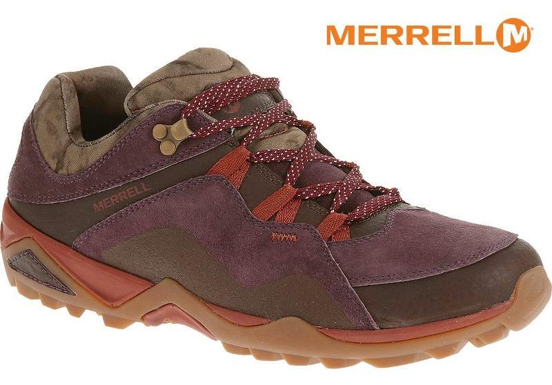 Merrell 登山鞋/越野鞋/健行鞋 防水透氣 FLUORECEIN GORE-TEX 女款 ML32192 紫紅