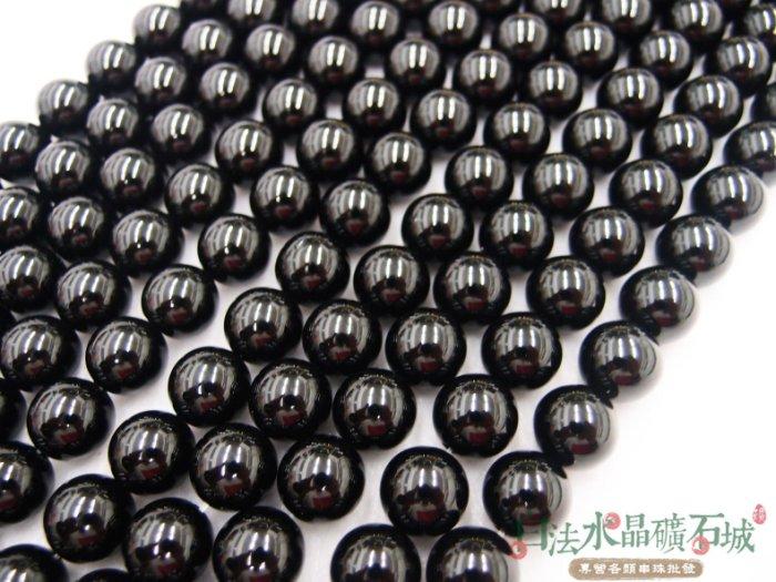 白法水晶礦石城   瑪瑙 老黑玉髓  黑瑪瑙 12mm 色澤-全黑  特級品  首飾材料-單顆訂購區
