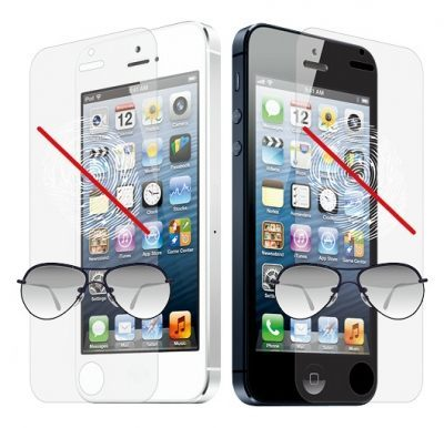 [NOVA成功3C]Ozaki O!coat_Anti-glare&fingerprint+ iPhone 5 HD高光澤感抗反光抗指紋霧面保護貼  喔!看呢來