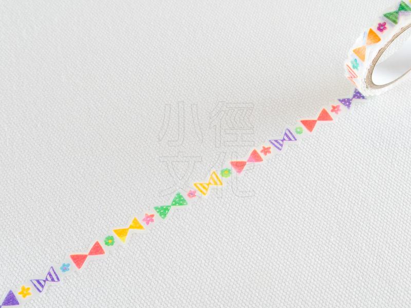 *小徑文化*日本進口和紙膠帶 PINE BOOK nami.nami Aqua Neon系列 ( TM00436 )
