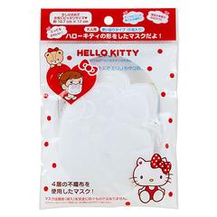 【真愛日本】160513000344層不織布立體口罩5入-KT   三麗鷗 Hello Kitty 凱蒂貓  口罩  防塵罩  外出用品