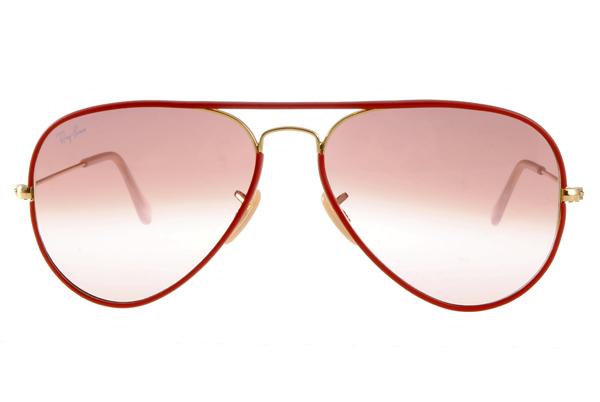 【SUPER SALE整點特賣商品】Ray Ban 雷朋 紅色金邊 RB3025JM 太陽眼鏡【輸入:COUPON150A 現折150】