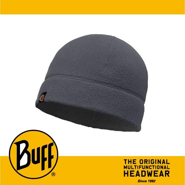 BUFF 西班牙魔術頭巾 POLAR保暖系列 保暖帽 [素面灰] BF110929-937-10