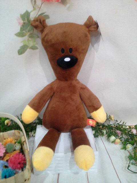 ~*My 71*~    絨毛娃娃 12吋 豆豆熊 標準款 50cm 玩偶 豆豆先生卡通 泰迪玩偶 生日 情人 禮物 玩具