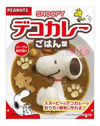 『日本代購品』可愛史努比 簡易飯模具 多功能飯模 咖哩模 日本製