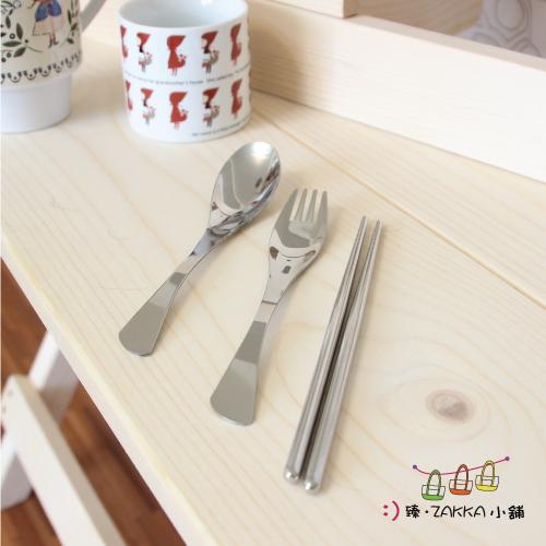 不鏽鋼餐具組-筷子、叉子、湯匙