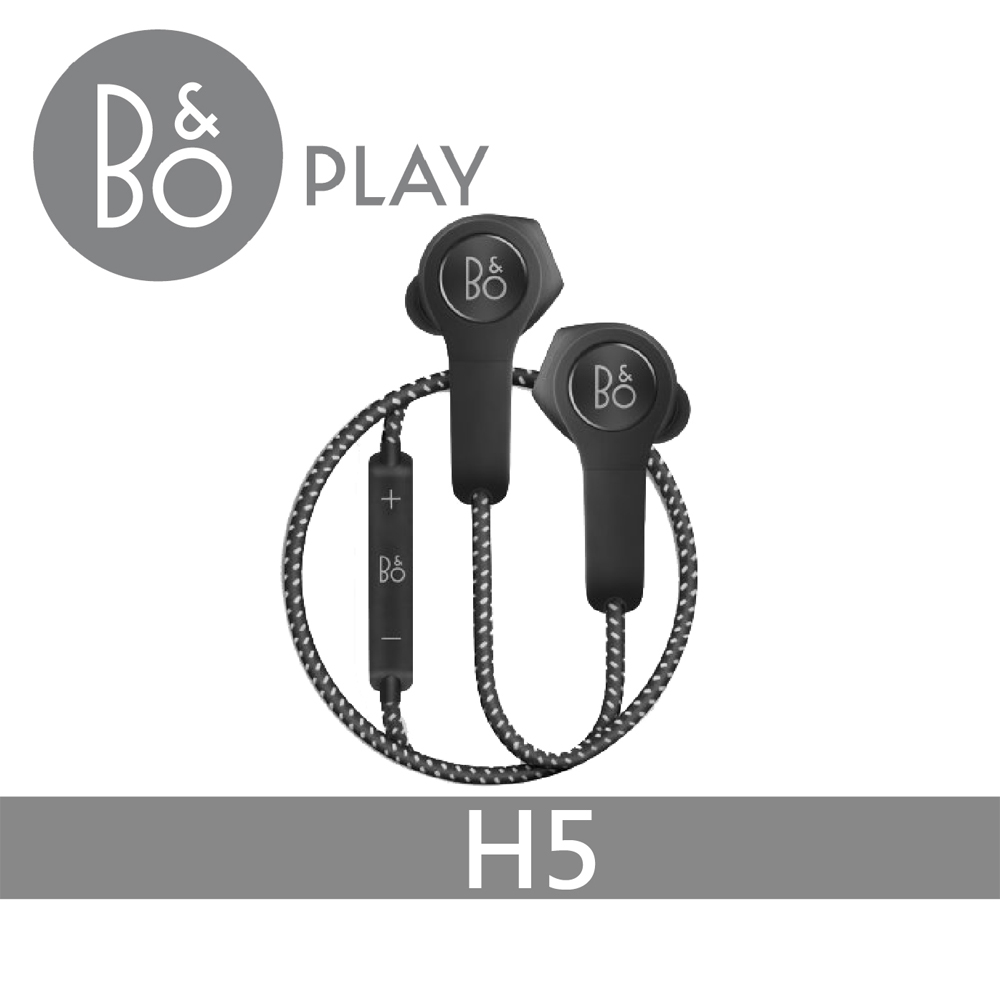 【B&O PLAY】BeoPlay H5 藍芽耳機 黑色 / 粉色