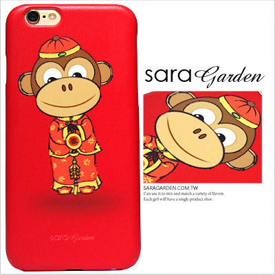 3D 客製 新年 猴子 喜氣 春聯篇 iPhone 6 6S Plus Note5 S6 M9 828 zenfone 2 C5 Z5 M5 手機殼【G0101102】