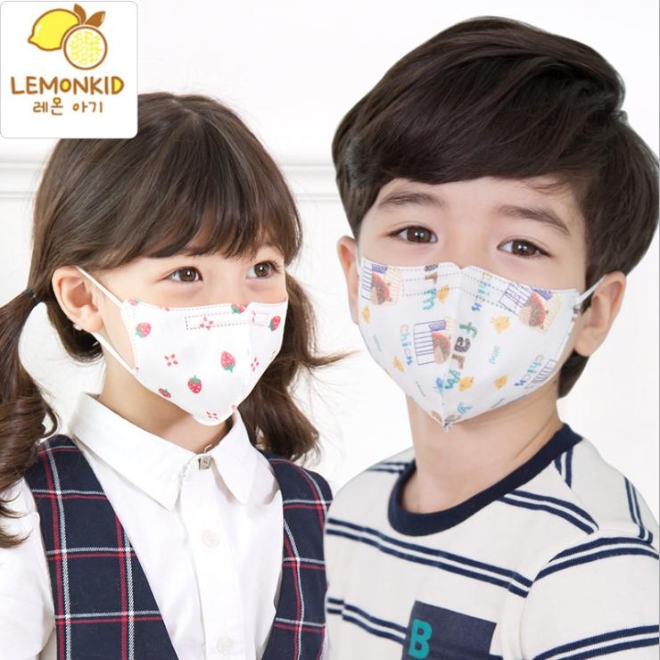 Lemonkid◆可愛彩色卡通印花透氣PM2.5防護無紡布防塵兒童口罩
