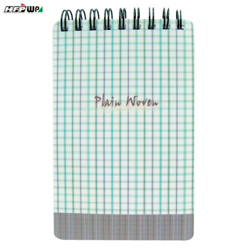 HFPWP 格子 口袋型筆記本100張內頁附索引尺台灣製 N3351PD / 本