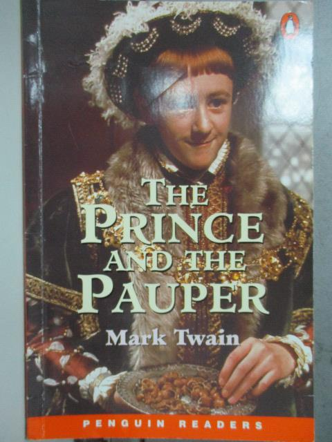 【書寶二手書T1/原文小說_JPT】The Prince and the Pauper_Twain, Mark/ Rollason, Jane