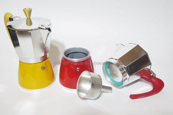 《愛鴨咖啡》G.A.T. DELIZIA 摩卡壺 6杯份 濃縮咖啡壺 義式摩卡壺