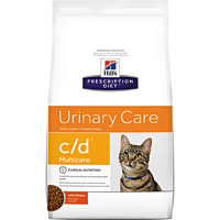 Hill's希爾思處方飼料│貓用C/D 泌尿道處方 貓CD 8.5LB/8.5磅 (似皇家處方LP34)