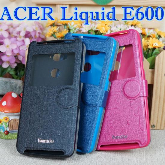 【休眠視窗】宏碁 Acer Liquid E600 感應翻頁式皮套/智能休眠喚醒/書本式翻頁皮套/保護皮套/支架斜立展示
