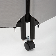 【日本林製作所】《ZIP LINK配件》中間用腳輪(有輪子)