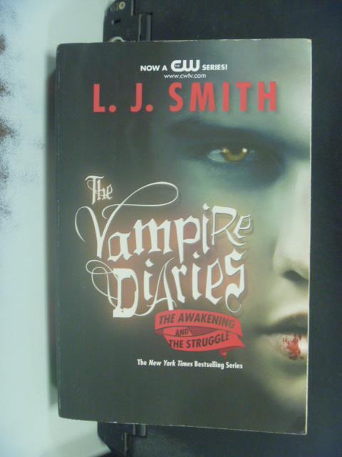 【書寶二手書T8/原文小說_OJP】The Vampire Diaries_Smith, L. J.