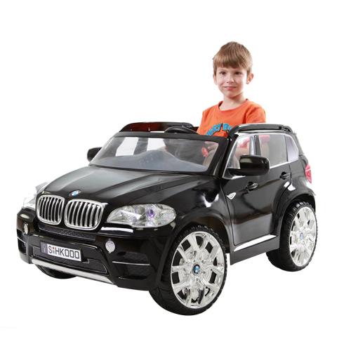 【奇買親子購物網】W498Q雙驅 BMW-X5電動車 (黑/白)