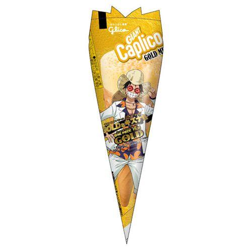 【Glico固力果】 海賊王GOLD MIX巨人水果巧克力甜筒餅 34g グリコ ジャイアントカプリコ GOLD MIX
