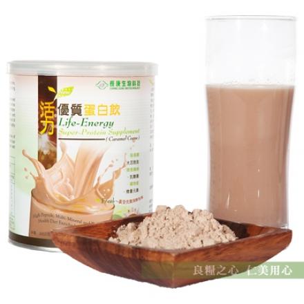長庚生技 活力優質蛋白飲(300g/罐)_焦糖可可
