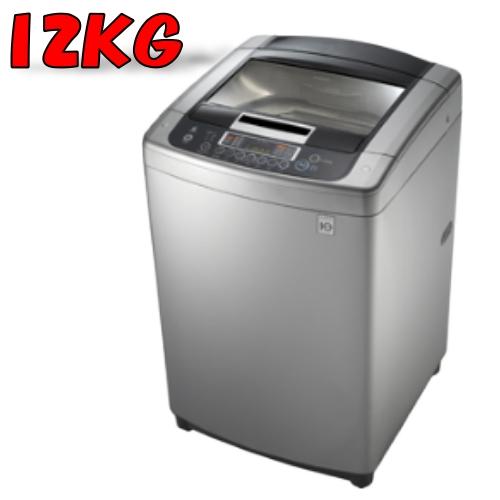 買再送好禮!LG 樂金【WT-D125SG】12公斤 6MOTIONDD直驅變頻直立式洗衣機(銀色)【小蔡電器】