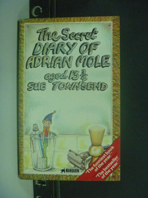 【書寶二手書T8/原文小說_GCS】The secret diary of Adrian Mole aged 13 3/