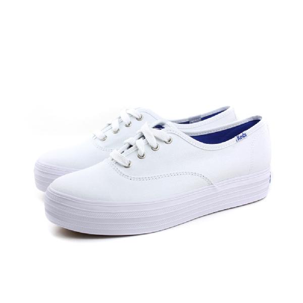 Keds 厚底布鞋 女鞋 白色 no134