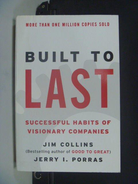 【書寶二手書T4/財經企管_JKT】Built to Last: Successful Habits…