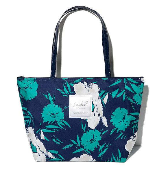 小熊日系* 植物花卉 手提包 簡約大方 托特包 肩包 收納包 可裝A4 側背包 收納袋 大尺寸