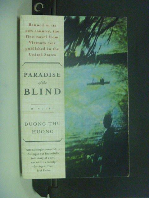 【書寶二手書T8/原文小說_GJS】Paradise of the Blind_Dng, Thu Hng