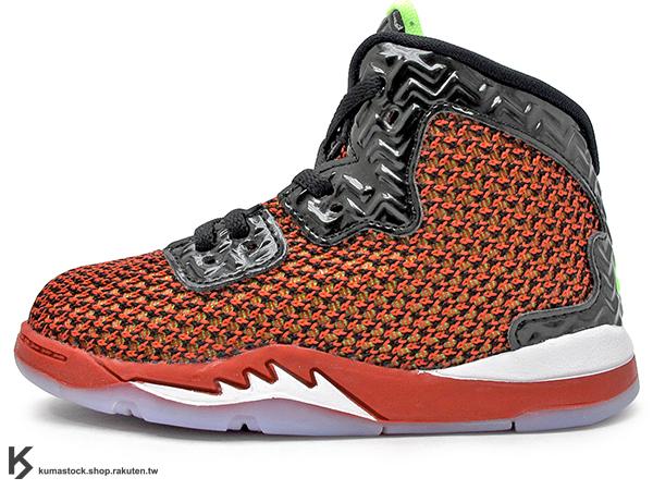2016 台灣未發售 全新設計 AJ 5 創意改良 NIKE JORDAN SPIKE FORTY BT TD UNIVERSITY RED 幼童鞋 BABY 鞋 紅黑 導演 AJ LEE (807545-605) !