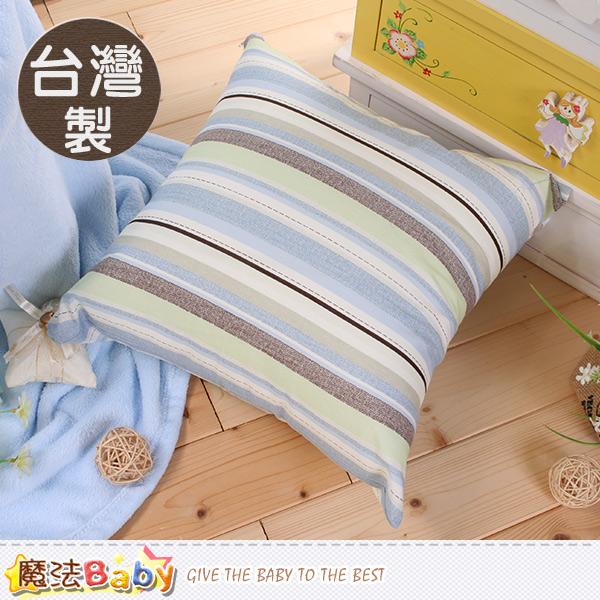 靠墊 台灣製45x45cm抱枕 靠墊 魔法Baby~id12_f