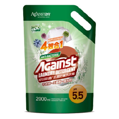 快潔適抗菌防螨洗衣精補充包(2000ml)