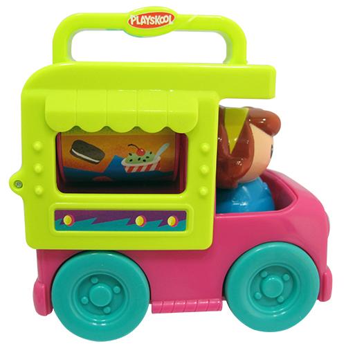 ★衛立兒生活館★兒樂寶 PLAYSKOOL 可攜式餐車遊戲組(冰淇淋車)