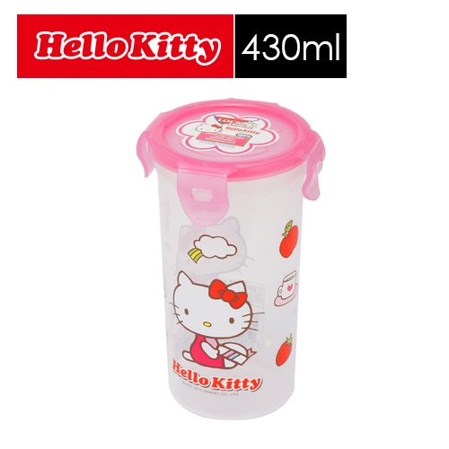 【SHOPPINESS】樂扣樂扣 HELLO KITTY PP保鮮盒_430ml=>LOCK&LOCK LocknLock 密封杯