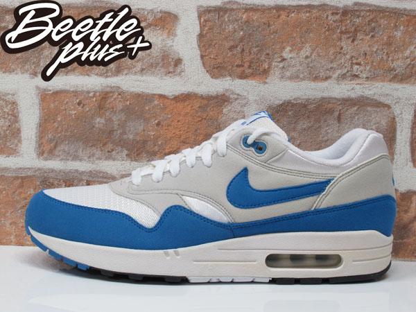 BEETLE PLUS NIKE AIR MAX 1 白藍 北卡 喬丹 90 95 慢跑鞋 男生 運動鞋 氣墊 378830-141