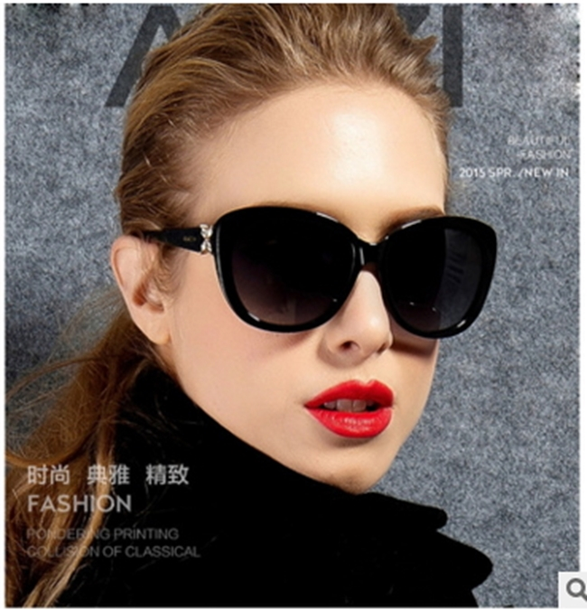 50%OFF【J011458Gls】新款時尚花朵款太陽鏡女潮9532 歐美復古太陽眼鏡墨鏡附眼鏡盒