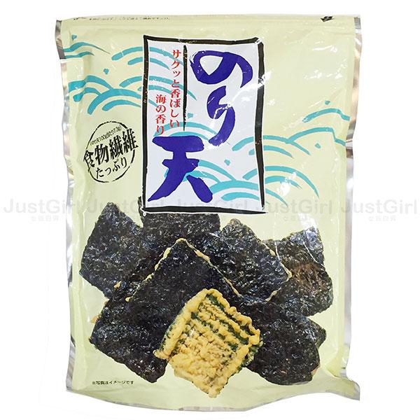 日本 丸嘉 井上瀨戶 海苔天婦羅 紫菜餅乾 炸海苔餅乾 日本製造進口 * JustGirl *