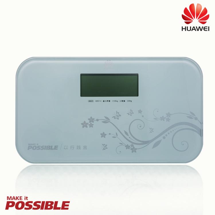 華為 HUAWEI 原廠電子健康秤/體重計/智能秤/LED體重秤/秤重/超薄機身/玻璃材質/自動零點/自動斷電/連續體重/開機自檢