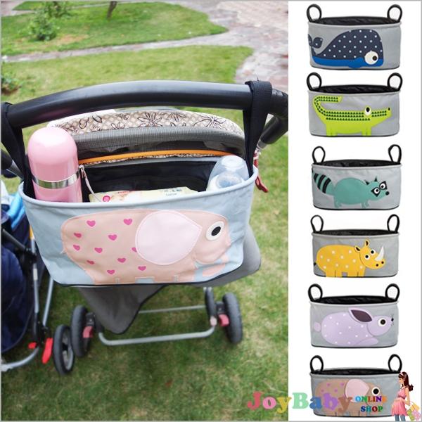 嬰兒推車掛袋手推車置物袋/嬰兒用品收納包/車籃掛袋/分格收納袋【JoyBaby】