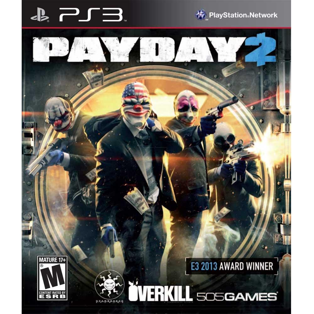 PS3 劫薪日2 英文美版 PAYDAY2