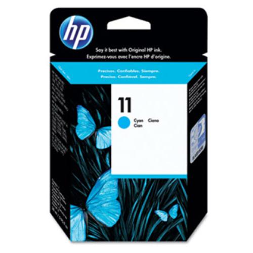 【HP 墨水匣】 C4836A  NO.11 藍色原廠墨水匣