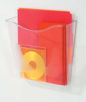 歐式文件架-A4直式透明