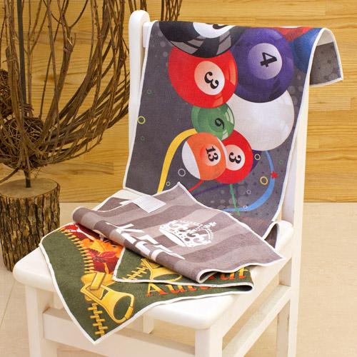 【客製化】28x46cm昇華熱轉印手巾(雙面印刷) A90-51100-099